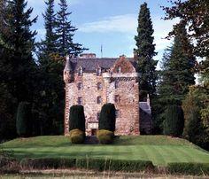 Castle Leod - Seat of Clan MacKenzie - inspiration for Castle Leoch