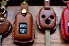 Leather Jewelry, Leather Craft, Leather Tooling, Leather Bag, Leather Key Case, Key Covers, Key Fobs, Craft Work, Bikers