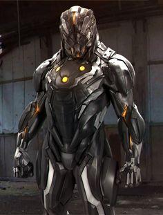 ArtStation - Steel armor, mars .