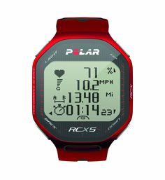 Polar RCX5 G5 Heart Rate Monitor (Red)