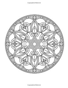 Zen Coloring Book for Adults Awesome Zen Transcendental Mandala Coloring Book for Adults and Adult Coloring Book Pages, Mandala Coloring Pages, Colouring Pages, Coloring Sheets, Coloring Books, Printable Coloring Pages, Kids Coloring, Mandala Art, Mandala Design
