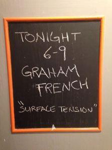 Graham French & Surface Tension. #wendypalmer #dimensionscustomframing #dimensionscf #ellendavidson #dimensionsgallerytoronto Surface Tension, Local Events, How To Know, Custom Framing, Graham, French, Gallery, Frame, Blog
