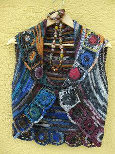 Ravelry: claupe's 126-8 Drops Crochet Bolero