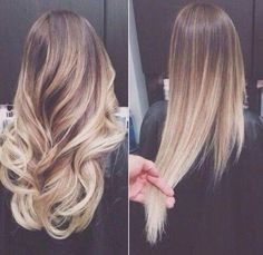 Nice ombre and two ways to show it^^
