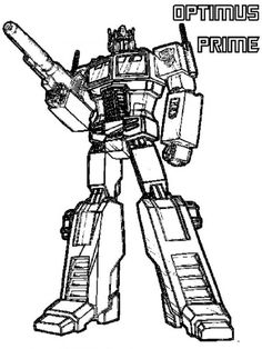67 Best Transformer Print Outs Images Transformers Coloring Pages