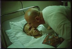 nan goldin photographs her friends suffering with the aids virus.