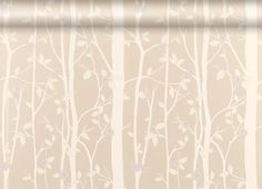 Cottonwood Natural Leaf Wallpaper