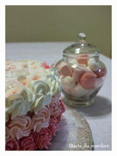 Torta primaverile in rosa per il compleanno della mamma #cake #design #pink #birthday #spring #flowers  #pandispagna #pasta di zucchero