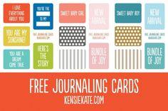 景品:kensieケイトを»ジャーナリングカード