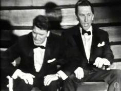 "Kirk Douglas and Burt Lancaster performed "" It`s great not to be nominated"" at the 1958 Academy Awards..."