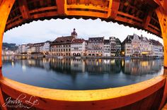 Lucerne through my eye