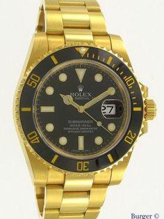 Rolex Submariner Date Yellow Gold. Rolex Submariner No Date, Gold Rolex, Gold Watch, Watches, Yellow, Best Deals, Men, Accessories, Ebay