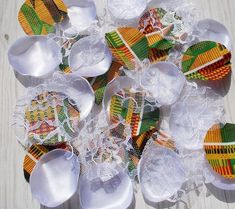 Items similar to African Wedding Decorations, Afrocentric Decor, Kente White African Party Decorations, Wedding Rose Petals, Kente Cloth Ghana Wedding on Etsy African Party Theme, African Wedding Theme, African Weddings, Nigerian Weddings, Traditional Wedding Decor, African Traditional Wedding, Traditional Dresses, Jamaican Wedding, Kente Cloth