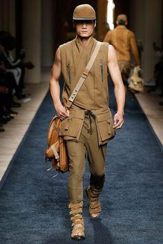 Balmain - Spring 2016 Menswear - Look 2 of 56