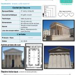 temple Art Analysis, Cycle 3, 3 Arts, Oeuvre D'art, Temple, Art History, Temples