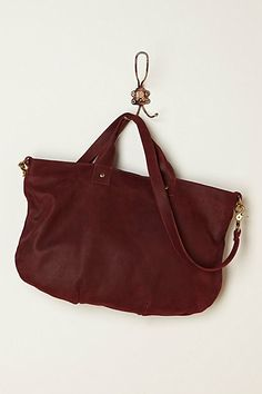 Paloma Suede Tote  #anthropologie  kind of love....