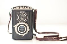 Vintage Medium Format Camera  Lubitel 2 by CuteOldThings on Etsy.