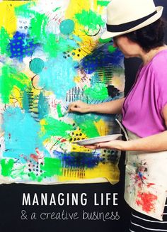 alisaburke- tips for managing your time and a creative business