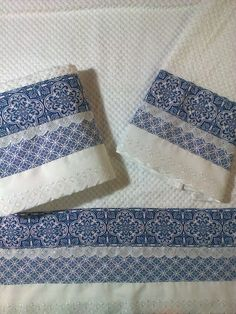 Sewing Crafts, Sewing Projects, Bathroom Crafts, Kitchen Towels, Home Textile, Tea Towels, Bed Sheets, Embellishments, Patches