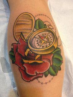 compass rose tattoos for men | Compass Tattoos – Designs and Ideas