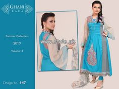 Ghani Textile Summer Collection 2013 For Girls