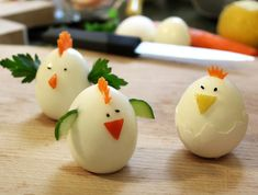 Members of hard-boiled eggs (Photo: Estee friends, good food) Haitian Food Recipes, Indian Food Recipes, Dinners For Kids, Kids Meals, Egg Photo, Brunch, Food Garnishes, Egg Decorating, Food Humor
