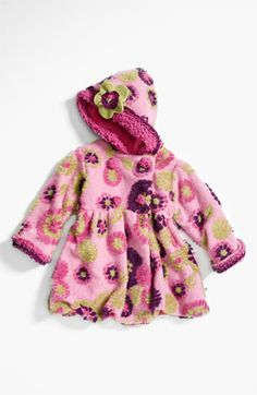 Corky & Company 'Mum' Peacoat (Little Girls) available at #Nordstrom