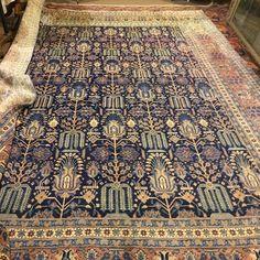 Saruk, Persia, epoca primo '900, lana, b buone condizioni, misure 400x300 cm. c/a. Prezzo: €. 7.500,00