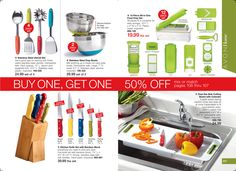 AVON Book Campaign 15 Pages 106-107 KITCHEN must haves.... Sale ends Friday. Shop online with me at https://andreafitch.avonrepresentative.com/ #kitchengadgets #kitchen