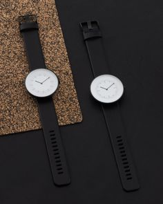 Scottish watch brand Nomad partnered with Samuel Wilkinson to design the Line Collection of watches that focus on a minimalist, yet unique aesthetic