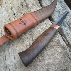 Scandinavianstyle Knife and Sheath by OldSchoolTools on Etsy