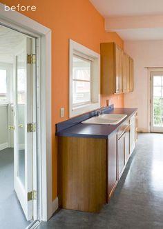 Before: Portland designer Vicki Simon's home remodel