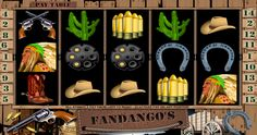 #Fandango's Video Slot is a five-reel, fifteen-line title from #TopGame. It has a western theme and #features a wild symbol, #bonus game and #freespins.