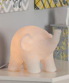Another great find on #zulily! Lil' Peanut Elephant Lamp by Blossoms & Buds #zulilyfinds
