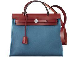 Hermes-Herbag-Zip-Bag-in-canvas-and-Cowhide-2 from Brag My Bag