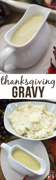 Thanksgiving Gravy - this gravy recipe is simple, only 5 ingredients and so delicious! (How To Make Gravy Daughters) Thanksgiving Gravy, Thanksgiving Recipes, Fall Recipes, Holiday Recipes, Great Recipes, Dinner Recipes, Favorite Recipes, Holiday Foods, Brunch Recipes