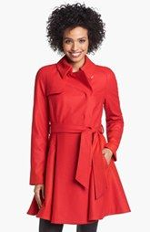 Fun and flattering red trench coat by Ted Baker London available at Nordstrom. #winter #coat #womensfashion2013