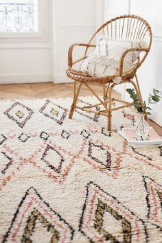 Handwoven Moroccan Azilal Rug The Gemma Berber Rug by LoomAndField
