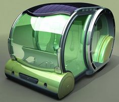 In the first book 'The Eleventh Elementum', the vehicle of choice is a hoover van like this one but bigger.