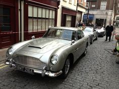 This fleet of Astons will be on display at the Skyfall premier in London tonight.....