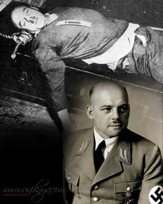 """Hitler's slave driver, Ernst Friedrich Christoph """"Fritz"""" Sauckel (27 October 1894 – 16 October 1946) was a German Nazi politician, Gauleiter of Thuringia and the General Plenipotentiary for Labour Deployment from 1942 until the end of the Second World War. Sauckel was among the 24 persons accused in the Nuremberg Trial of the Major War Criminals before the International Military Tribunal. He was found guilty of war crimes and crimes against humanity, and was sentenced to death by hanging."""