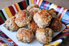 Amee's Savory Dish: The Best Gluten-Free Meatballs