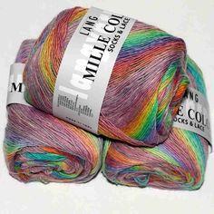 Mille Colori Socks & Lace Pastell von Lang Yarns - Heikes Handgewebtes