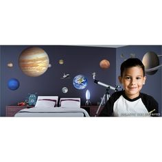 iStickUp Outer Space Wall Decal
