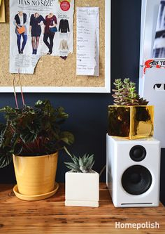 Style Girlfriend - The voice behind men's lifestyle blog gets a home office makeover @Homepolish New York City