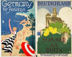 Vintage Germany | Vintage German Maps Provide Something Your Smartphone Can't ...