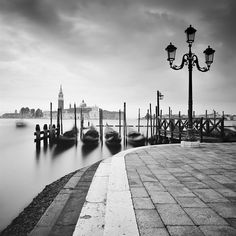Black And White Photography, Venice, Landscape Photography, Sidewalk, Gallery Wall, San, Artwork, Italia, Black White Photography