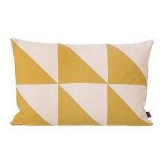 Twin Triangle Kissen curry - 60 x 40cm - Ferm Living