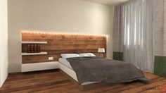 House Interior Design - Bedroom - Oradea, Romania by Artprenta Studio www.artprenta.ro