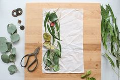 With just some hand-picked leaves and a bit of steam you can make some pretty spiffy looking eco-dyed fabrics. Good job, Mother Nature.